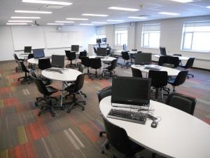 Salle de formation, Cégep Limoilou, campus de Charlesbourg