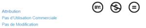 """« """"Le titulaire des droits autorise l'utilisation de l'œuvre originale à des fins non commerciales, mais n'autorise pas la création d'œuvres dérivées. »""""  Source :  : http://creativecommons.fr/licences/les-6-licences/"""